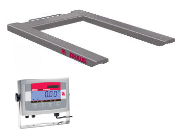 Ohaus Defender 3000 Stainless Steel Pallet Scales